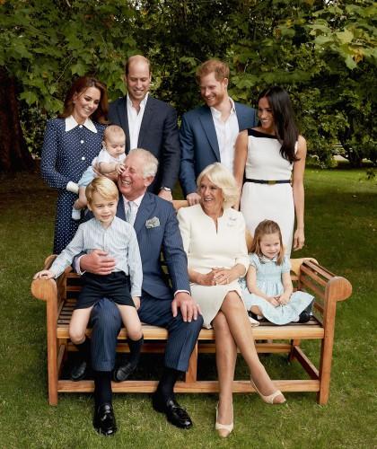 Семья принца Чарльза