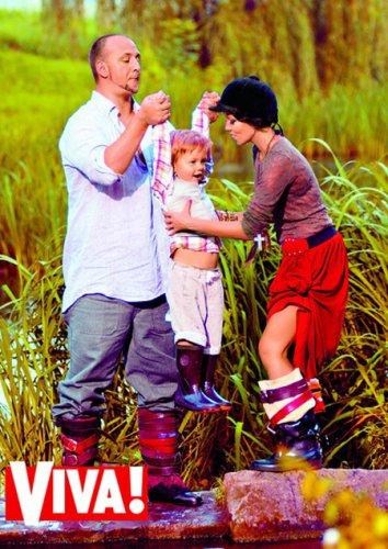 Супруги с трехлетним сыном Андреем