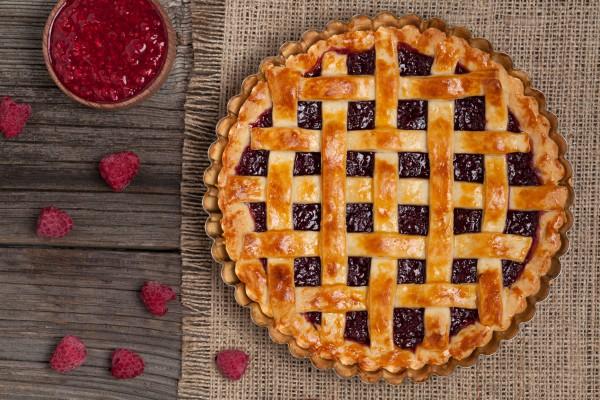 Американский пирог с ягодной начинкой