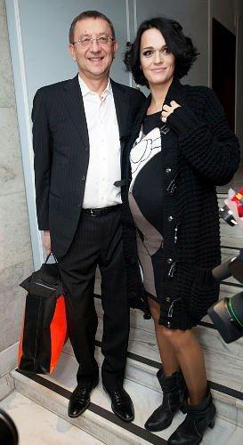 Певица Слава и ее гражданский муж Анатолий Данилицкий