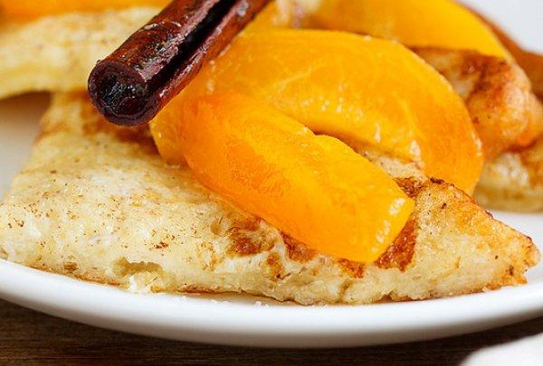 Рецепт                  Французские тосты с абрикосами