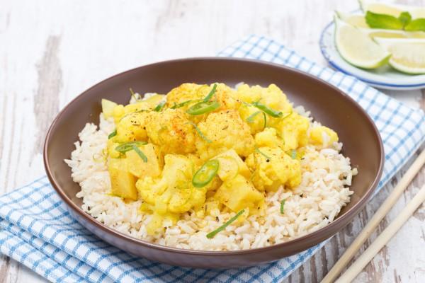 Индийское карри из овощей