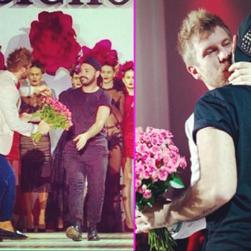 Фото целующегося Ивана Дорна с дизайнером выложила в Сеть Катерина Осадчая