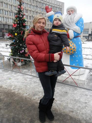 Татьяна Ковинько воспитывает сына одна