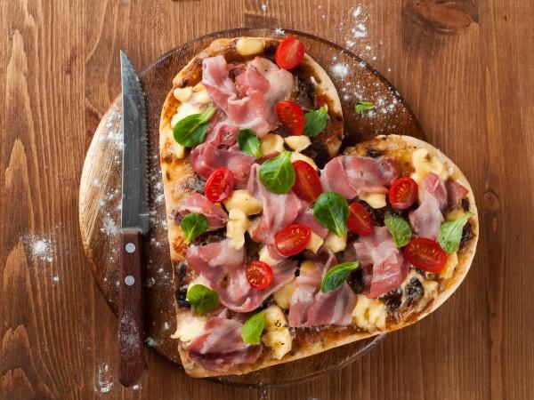 Пицца на День святого Валентина
