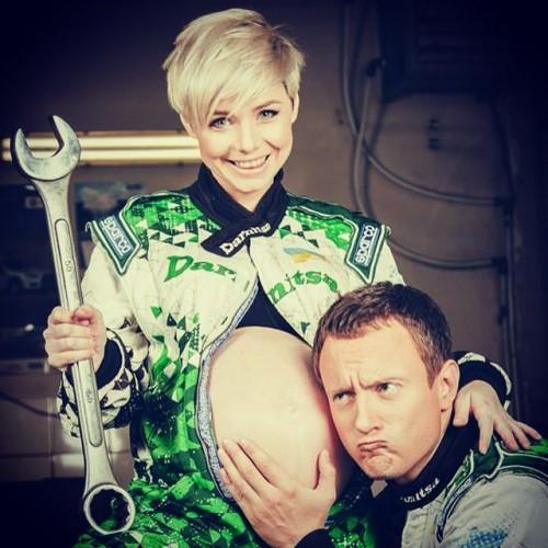 Наташа Гордиенко с мужем
