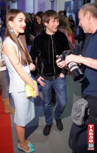 Дмитрий Ступка с невестой