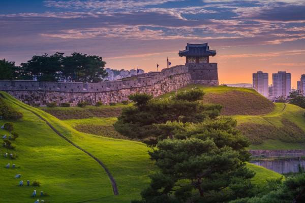 Крепость Хвасон, Южная Корея