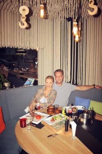 Наталья Окунская с Германом Блиновым