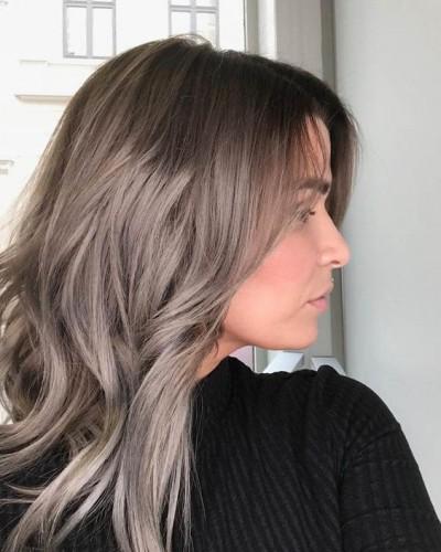 Натуральныо русый цвет волос