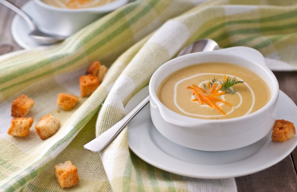 Рецепт                  Сырный суп с рисом и куриным филе