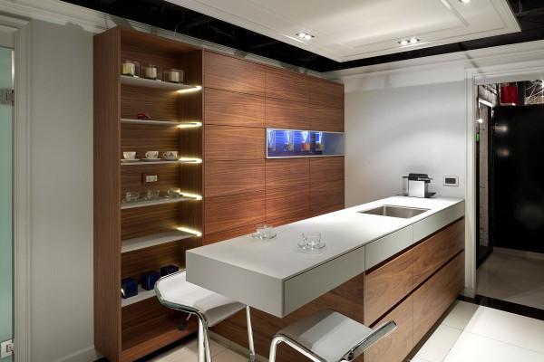Кухня Aurora, студия A-partmentdesign