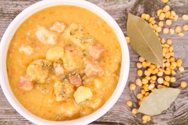 рецепт горохового супа с помидорами
