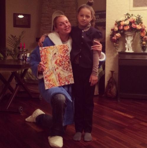 Дочь Анастасии Волочковой подарила маме подарок