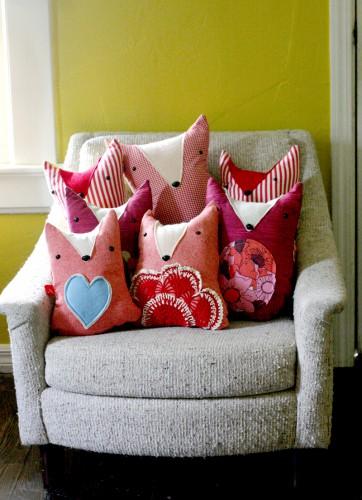 Подушки-игрушки для всей семьи