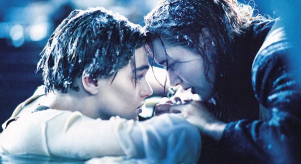 КДень святого Валентина: Кадр из фильма Титаник
