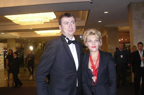 Телетриумф 2012: Валерий Жидков с женой