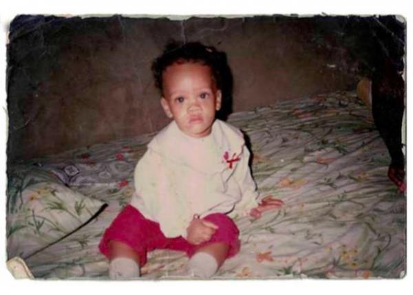Рианна в детстве фото