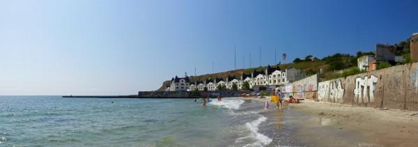 Пляжи Одессы: Большой фонтан