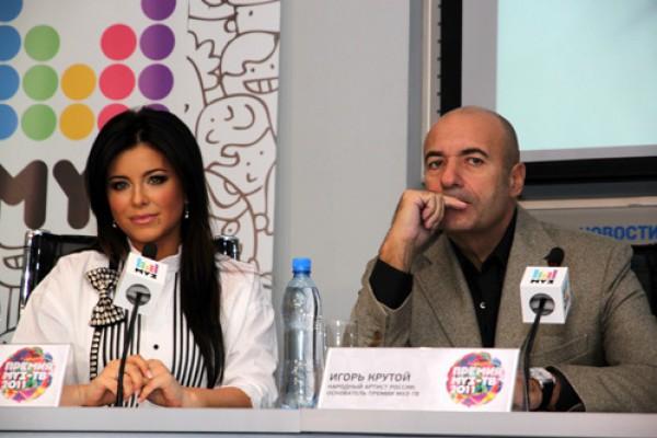 Ани Лорак и Игорь Крутой – члены жюри, канал Украина транслирует Новую волну 2013