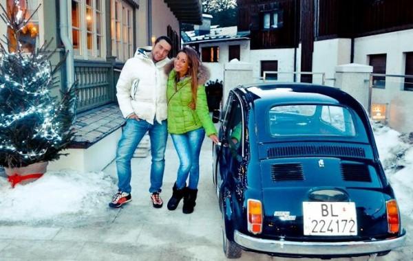 Александра Шульгина с новым другом