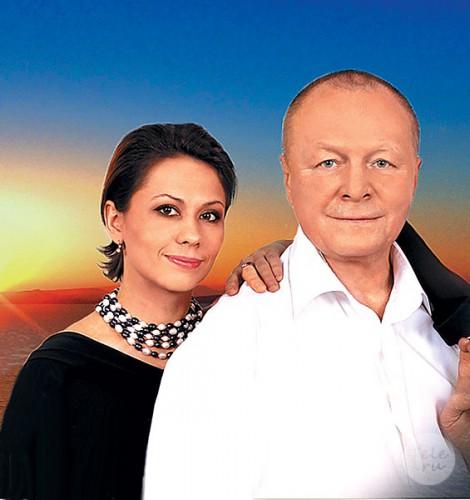 Борис Галкин с супругой
