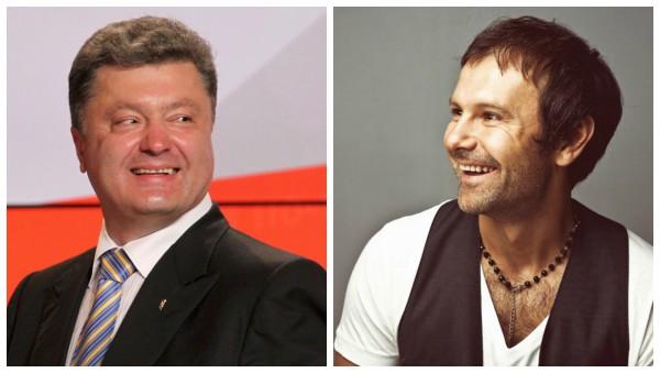Президент Украины поздравил Вакарчука с днем рождения