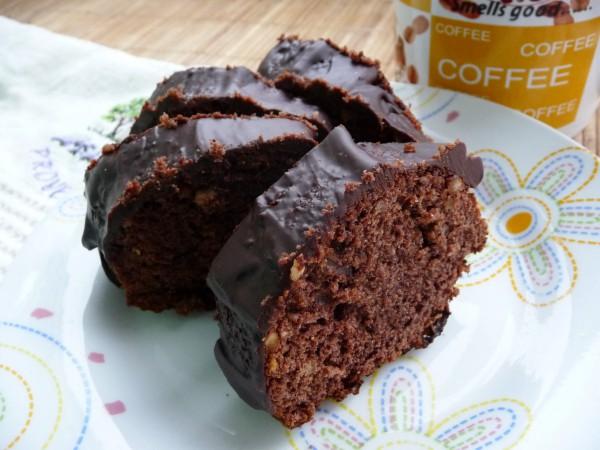Рецепт                  Шоколадный кекс с лесными орехами