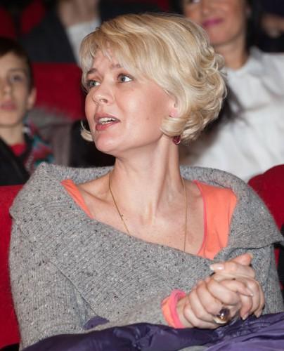 Российская актриса Юлия Меньшова