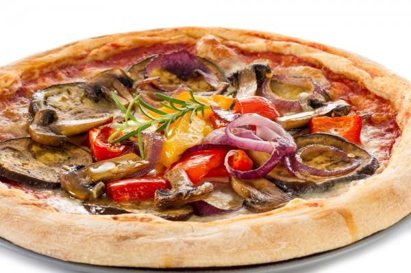Рецепт                  Пицца с овощами гриль