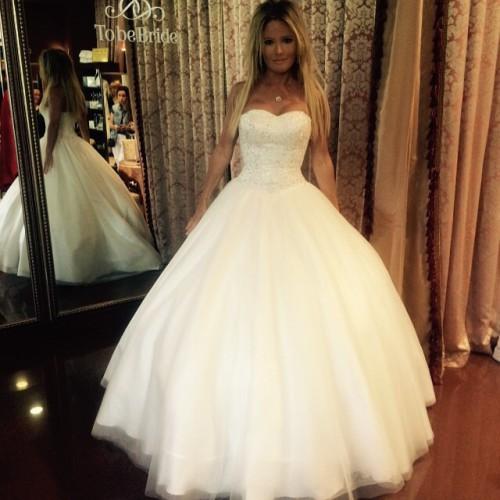 Дана Борисова в свадебном платье