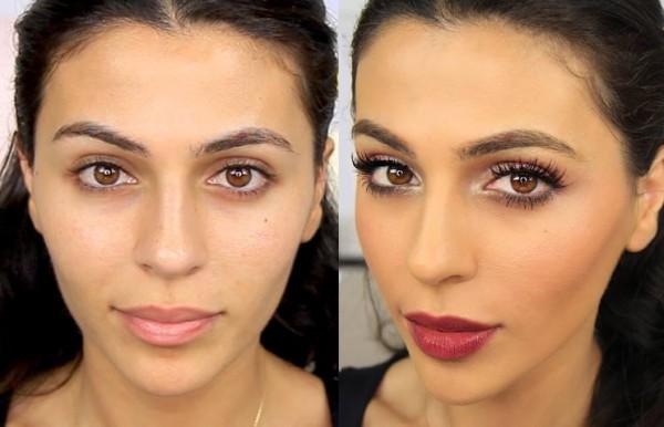 как меняет людей макияж фото