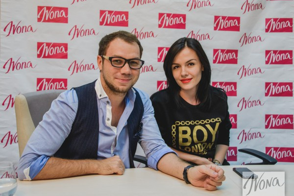 Андре Тан и певица Эрика ответили на вопросы читателей Ivona
