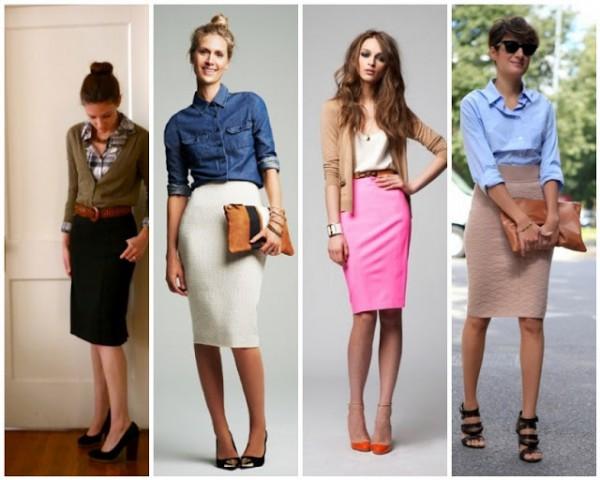 Модные вещи 2013: Юбка-карандаш - Тренды моды, мода 2014, модные ...