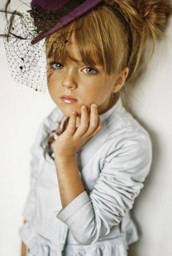 4-летняя Кристина Пименова – звезда глянцевых обложек,занявшая в ТОП-Google 3 место