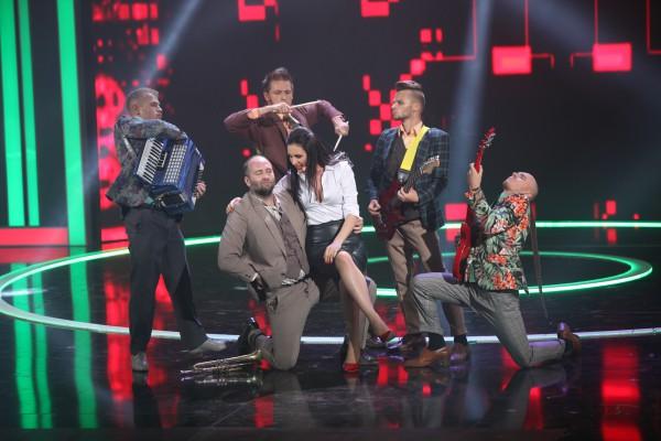 Мила Нитич в шоу Место встречи