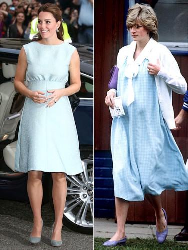 Модные наряды для беременных принцесс