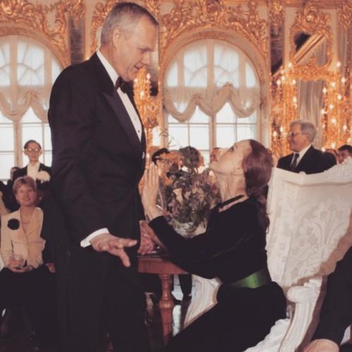Майя Плисецкая с отцом Ксении Собчак