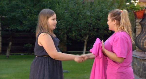 Зважені та щасливі 6 сезон: Таня со своей подопечной