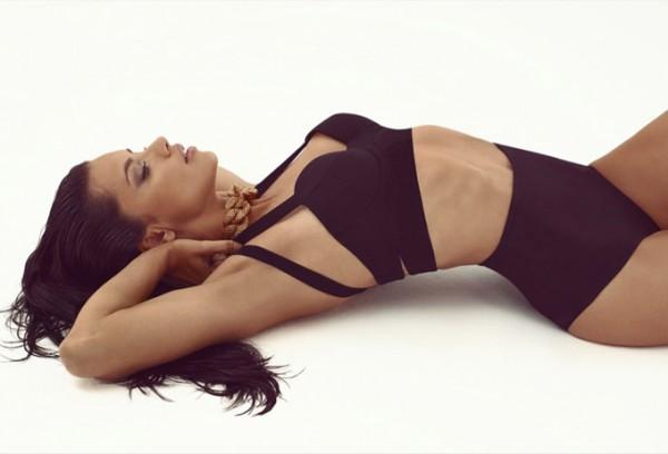 Адриана Лима в журнале Vogue