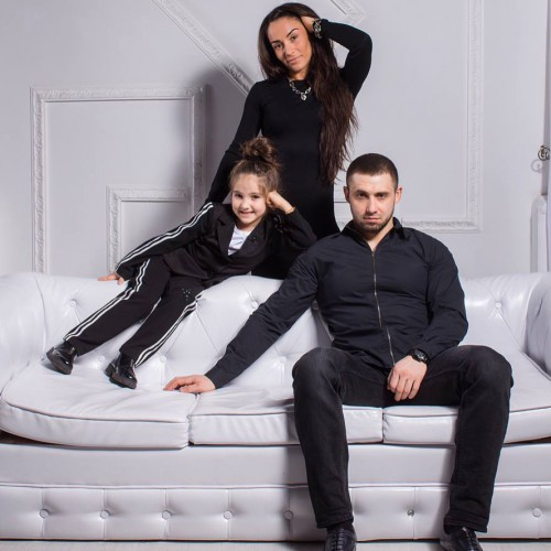 Элина Литвинчук с семьёй фото