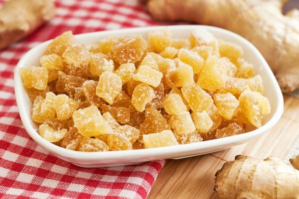 Рецепт полезных имбирных цукат