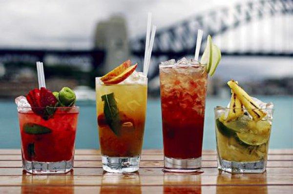 коктейли летние лёгкие рецепты с фото