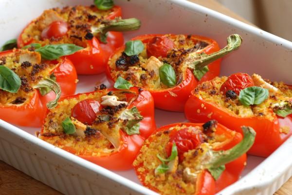 Рецепт                  Фаршированный перец по-итальянски