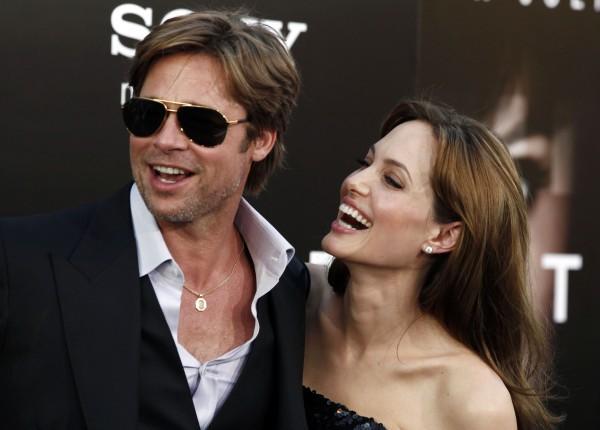 Джоли и Питт счастливы вместе