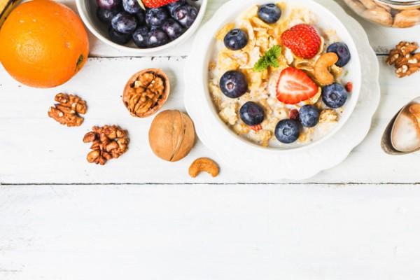 Витаминная каша на завтрак
