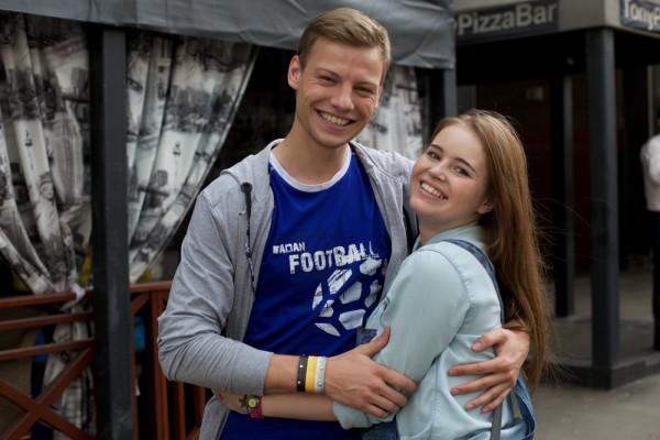Дмитрий Власкин и Полина Гренц