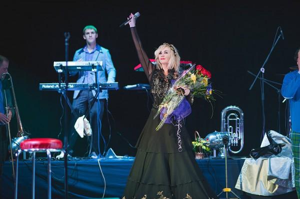Ирина Билык вышла на сцену в уникальном наряде