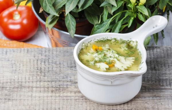 фото с и рецепт яйцом суп макаронами с