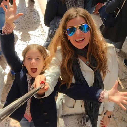 Жанна с дочкой Лолитой